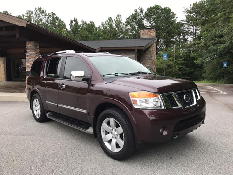 2013 Nissan Armada for sale at Classy And Luxury Motors in Marietta GA