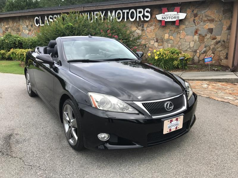 2010 Lexus Is 250C 2dr Convertible 6A In Marietta GA - Classy And