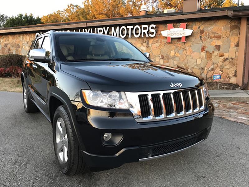 2013 Jeep Grand Cherokee for sale at Classy And Luxury Motors in Marietta GA