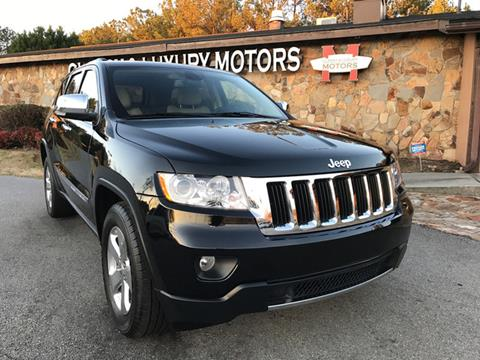 2013 Jeep Grand Cherokee for sale at Classy And Luxury Motors in Marietta GA