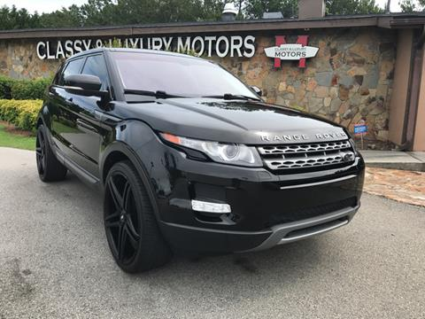 2013 Land Rover Range Rover Evoque for sale at Classy And Luxury Motors in Marietta GA