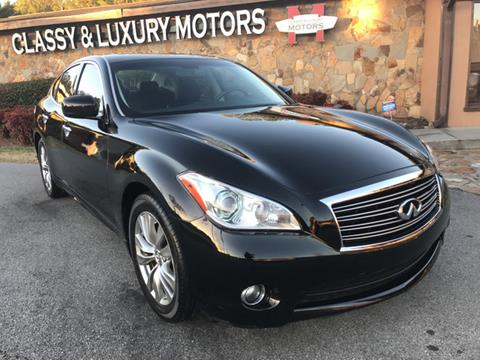 2013 Infiniti M37 for sale at Classy And Luxury Motors in Marietta GA