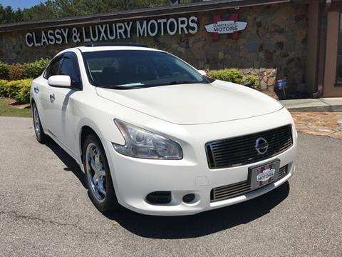 2011 Nissan Maxima for sale at Classy And Luxury Motors in Marietta GA