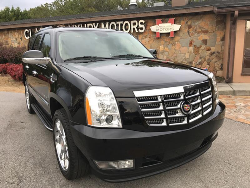 2014 Cadillac Escalade for sale at Classy And Luxury Motors in Marietta GA