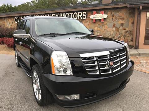 2014 Cadillac Escalade for sale at Classy And Luxury Motors in Marietta GA