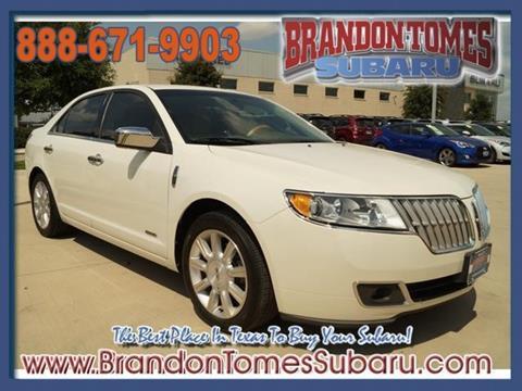 2012 Lincoln MKZ Hybrid for sale in Mckinney, TX