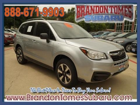 2018 Subaru Forester for sale in Mckinney, TX