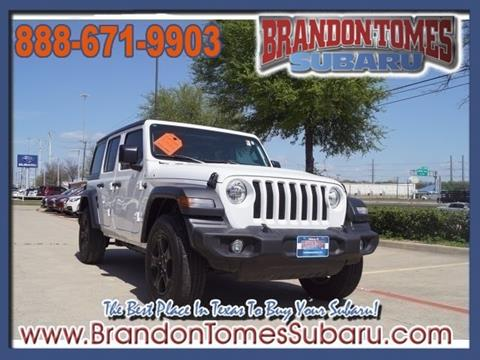 2018 Jeep Wrangler Unlimited for sale in Mckinney, TX
