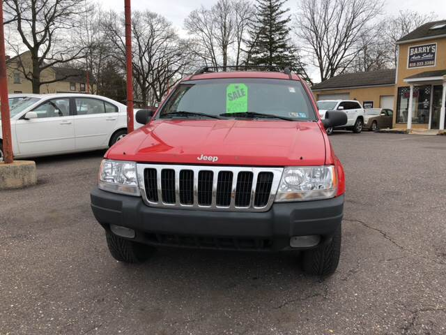 1999 Jeep Grand Cherokee For Sale At Barryu0027s Auto Sales In Pottstown PA