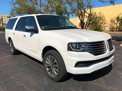2016 Lincoln Navigator L for sale in Hollywood, FL