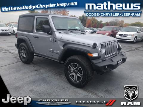 2020 Jeep Wrangler for sale in Marion, OH