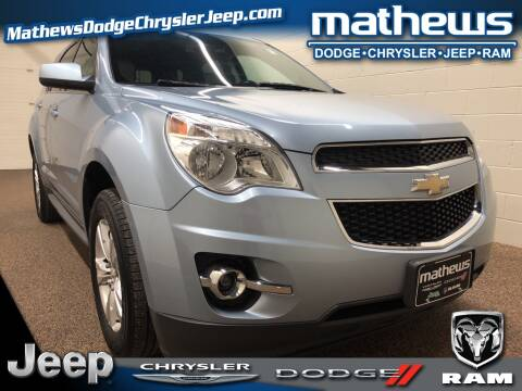 2014 Chevrolet Equinox LT for sale at MATHEWS DODGE INC in Marion OH