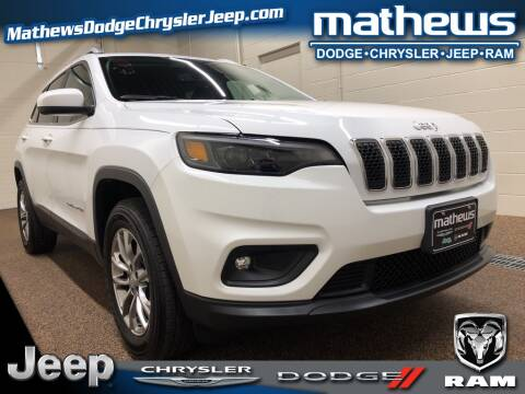 2019 Jeep Cherokee Latitude Plus for sale at MATHEWS DODGE INC in Marion OH