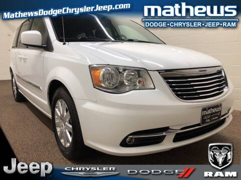 2014 Chrysler Town and Country Touring for sale at MATHEWS DODGE INC in Marion OH
