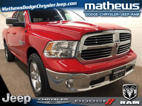 2019 RAM Ram Pickup 1500 Classic Big Horn for sale at MATHEWS DODGE INC in Marion OH