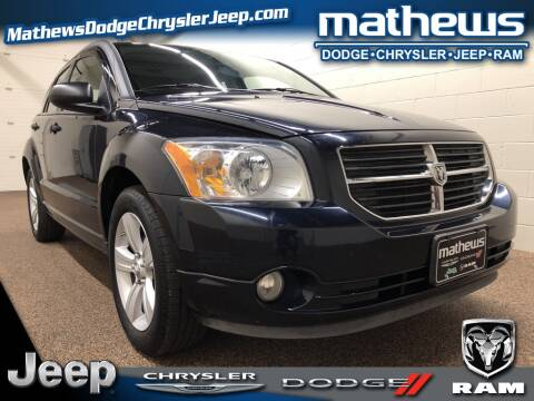 2011 Dodge Caliber Uptown for sale at MATHEWS DODGE INC in Marion OH
