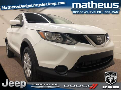 2019 Nissan Rogue Sport S for sale at MATHEWS DODGE INC in Marion OH