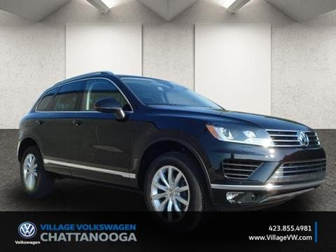 2017 Volkswagen Touareg for sale in Chattanooga TN