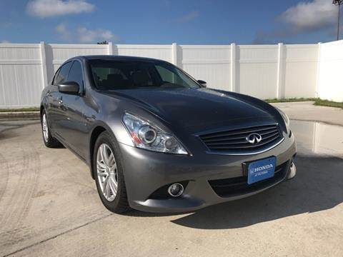 2013 Infiniti G37 Sedan for sale in Victoria, TX