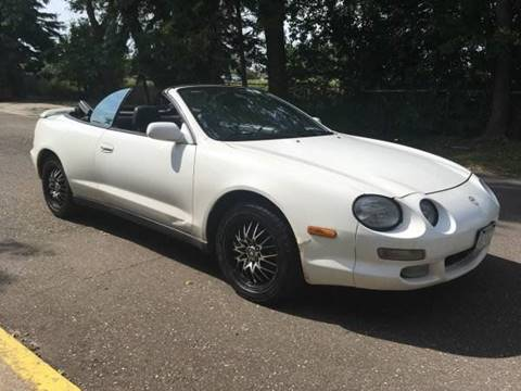 1998 Toyota Celica for sale at Capital Fleet  & Remarketing  Auto Finance in Columbia Heights MN