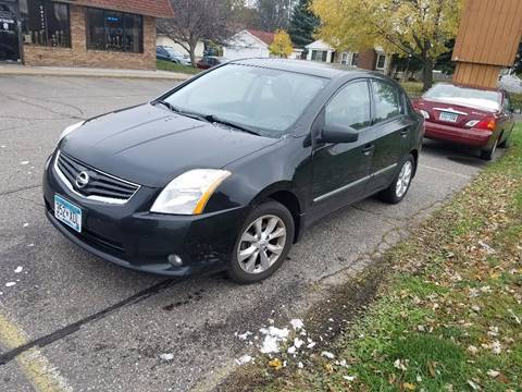 2010 Nissan Sentra for sale at Capital Fleet  & Remarketing  Auto Finance in Columbia Heights MN