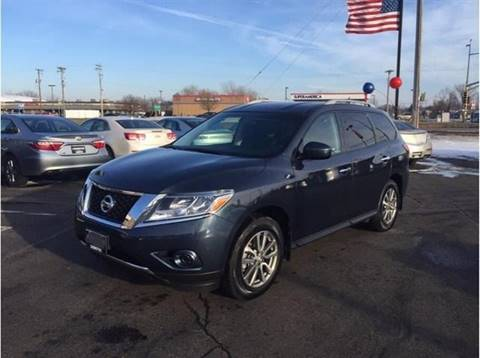 2013 Nissan Pathfinder SL for sale at Capital Fleet  & Remarketing  Auto Finance in Columbia Heights MN