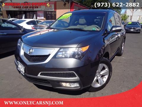 2013 Acura MDX for sale in Irvington, NJ