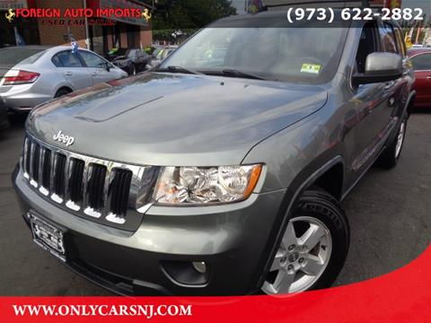 2012 Jeep Grand Cherokee for sale in Irvington, NJ