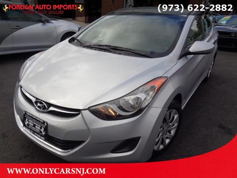 2012 Hyundai Elantra for sale in Irvington, NJ