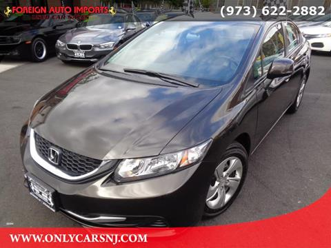 2013 Honda Civic for sale in Irvington, NJ