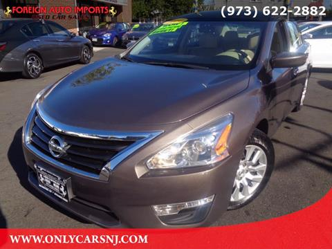 2014 Nissan Altima for sale in Irvington, NJ