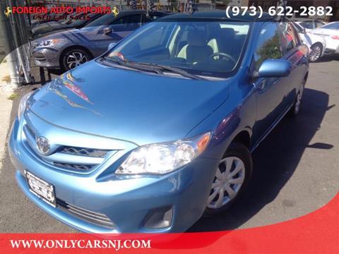 2013 Toyota Corolla for sale in Irvington, NJ