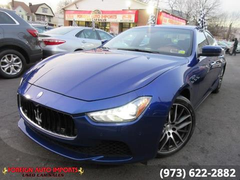 2015 Maserati Ghibli for sale in Irvington, NJ