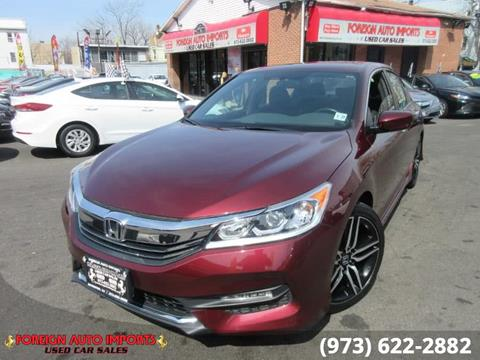 2016 Honda Accord for sale in Irvington, NJ