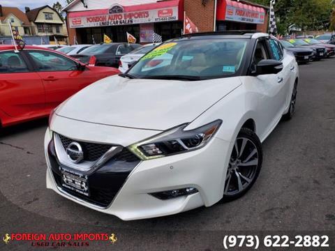 2016 Nissan Maxima for sale in Irvington, NJ