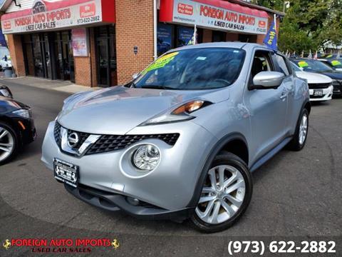 2016 Nissan JUKE for sale in Irvington, NJ