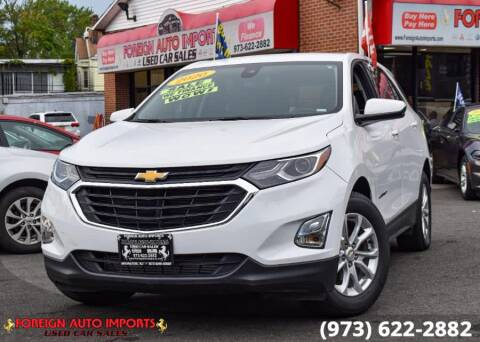2020 Chevrolet Equinox for sale at www.onlycarsnj.net in Irvington NJ