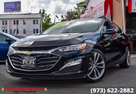 2020 Chevrolet Malibu for sale at www.onlycarsnj.net in Irvington NJ