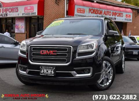 2017 GMC Acadia Limited for sale at www.onlycarsnj.net in Irvington NJ