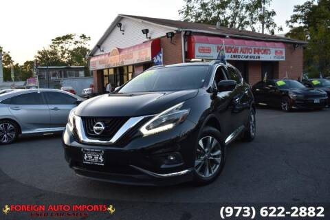 2018 Nissan Murano for sale at www.onlycarsnj.net in Irvington NJ