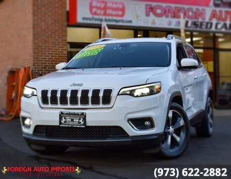 2019 Jeep Cherokee for sale at www.onlycarsnj.net in Irvington NJ