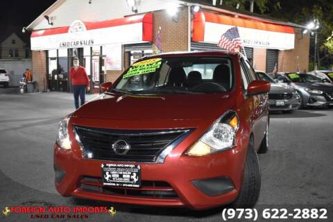 2018 Nissan Versa for sale at www.onlycarsnj.net in Irvington NJ