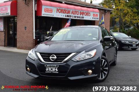 2018 Nissan Altima for sale at www.onlycarsnj.net in Irvington NJ