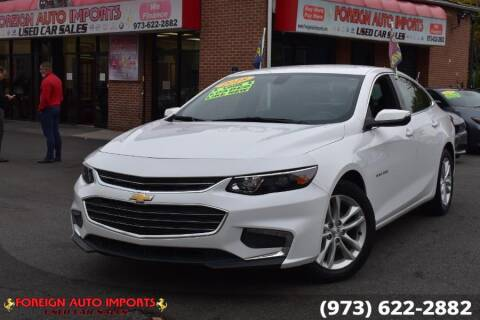 2018 Chevrolet Malibu for sale at www.onlycarsnj.net in Irvington NJ