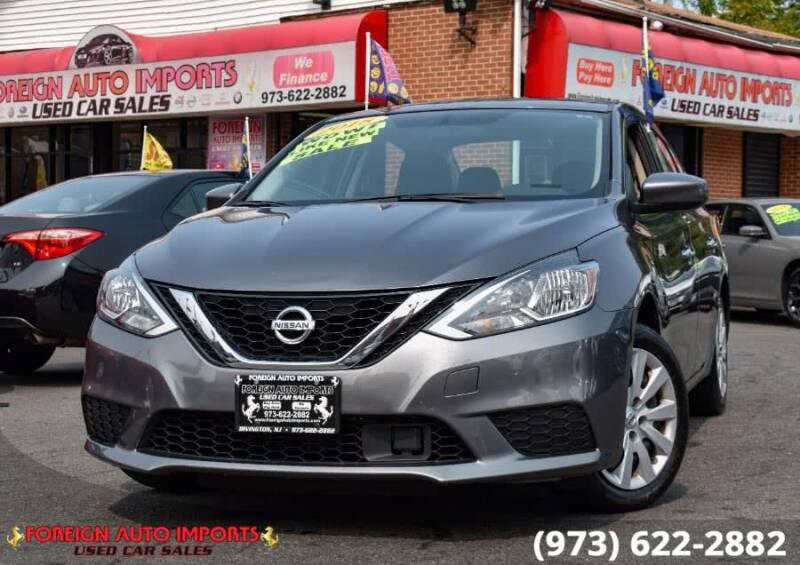 2018 Nissan Sentra for sale at www.onlycarsnj.net in Irvington NJ