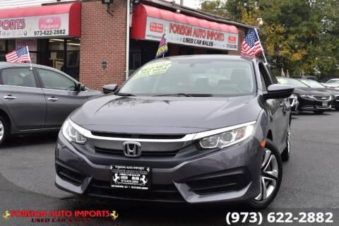 2018 Honda Civic for sale at www.onlycarsnj.net in Irvington NJ