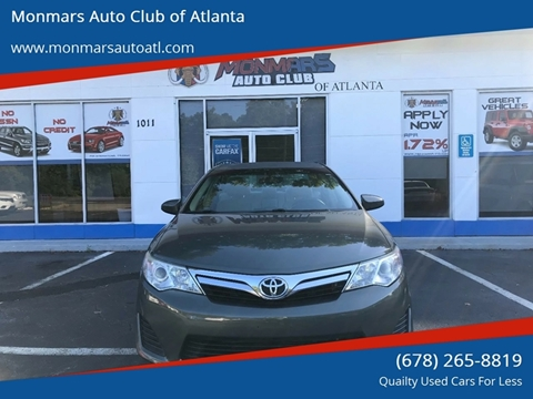 2013 Toyota Camry For Sale In Marietta, GA
