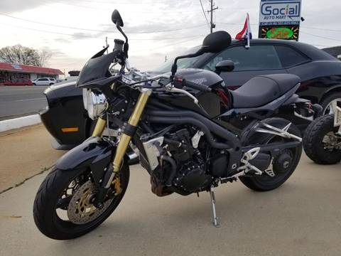 2007 Triumph Speed Triple for sale in Hot Springs, AR