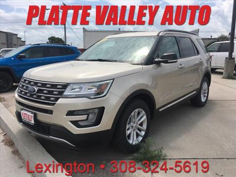 2017 Ford Explorer for sale in Lexington, NE