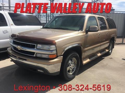 2001 Chevrolet Suburban for sale in Lexington, NE